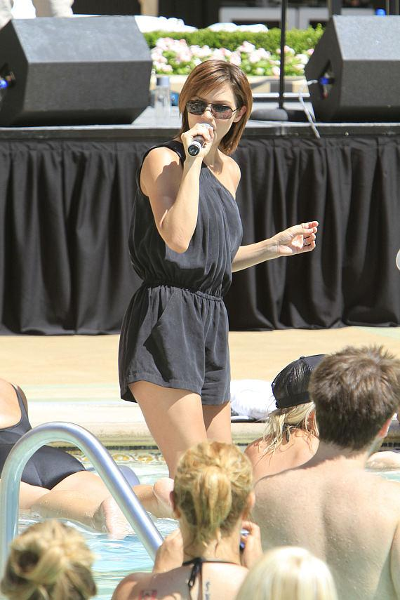 Katharine McPhee kicks-off 'Stereo Love Saturdays' at AZURE