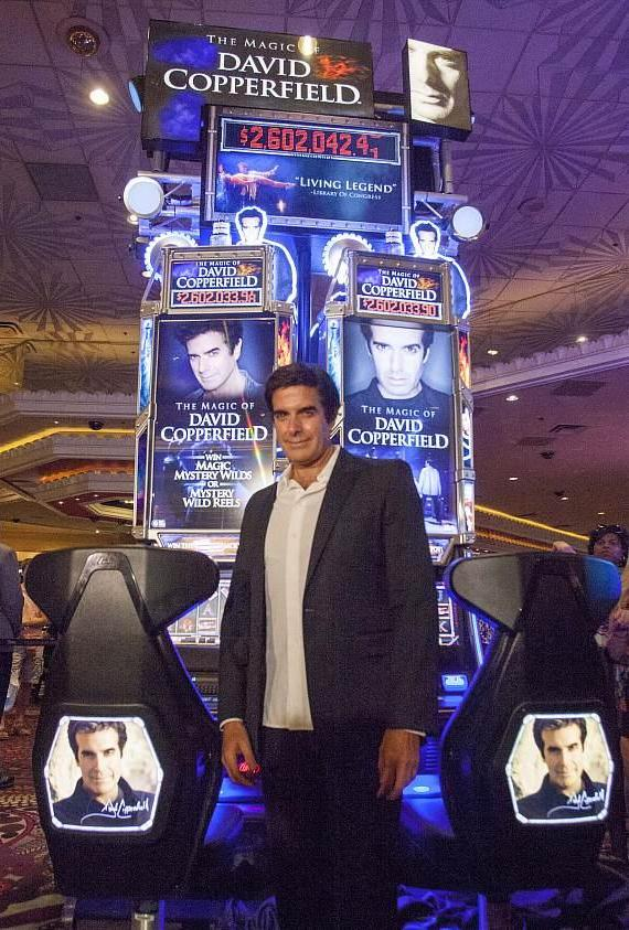 """The Magic of David Copperfield"" Slot Machine"