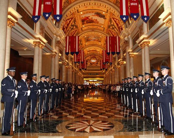 "The Venetian Rolls Out The Red Carpet for America's Veterans with ""Tribute to the Troops"""