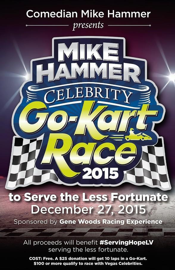 Comedian Mike Hammer presents the Inaugural