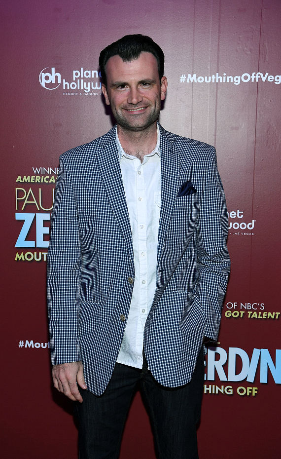 MILLION DOLLAR QUARTET Las Vegas Star Marc D. Donovan at Opening Night of PAUL ZERDIN MOUTHING OFF at Planet Hollywood Resort & Casino