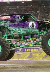 Monster Jam World Finals XVIII Rolls into Las Vegas March 23–25, 2017 at Sam Boyd Stadium