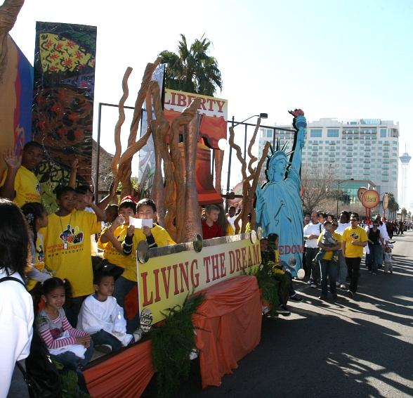 MGM Resorts Presents 30th Annual Dr. Martin Luther King Jr. Parade in Las Vegas Jan. 16
