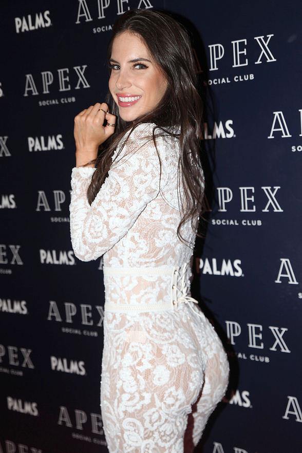 Jen Selter Celebrates Her Birthday at Newly Opened Las Vegas Hotspot APEX Social Club at Palms Casino Resort