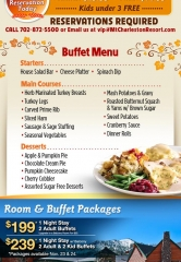 The Resort on Mt Charleston hosts their 7th annual Thanksgiving buffet