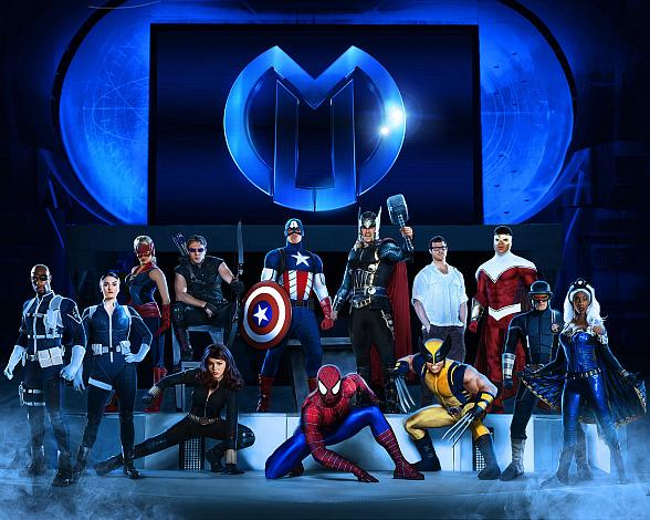 Marvel Universe Live! Blasts into The Thomas & Mack Center April 23–26, 2015