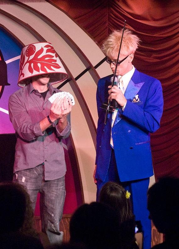 Murray SawChuck performs in MURRAY 'Celebrity Magician' at The Tropicana Las Vegas