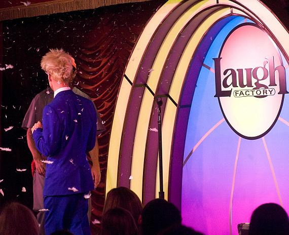 Murray SawChuck Turns an Egg into a Dove at The Laugh Factory