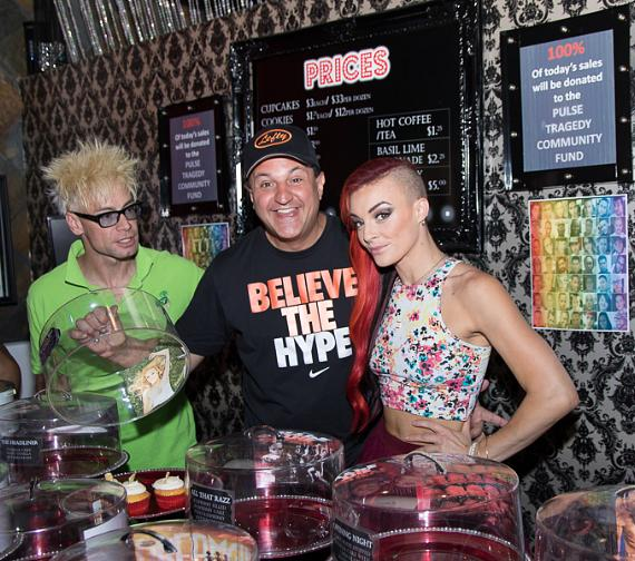 Cast of MURRAY 'Celebrity Magician' helps Showboy Bakeshop raise funds for Orlando Victims