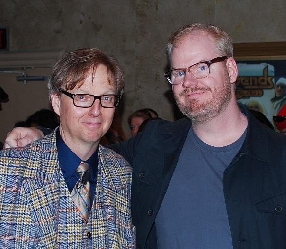Mac King and Jim Gaffigan