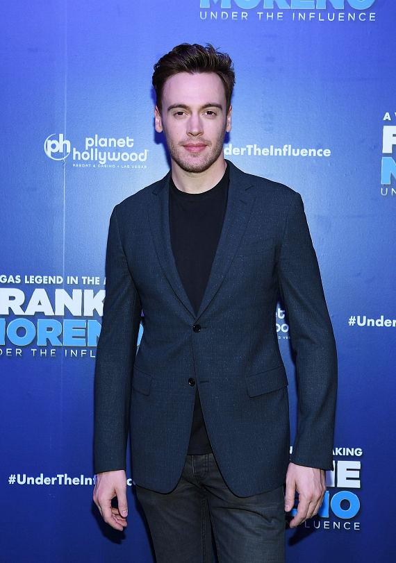Madam Secretary Star Erich Bergen at Opening Night of FRANKIE MORENO - UNDER THE INFLUENCE at Planet Hollywood Resort & Casino