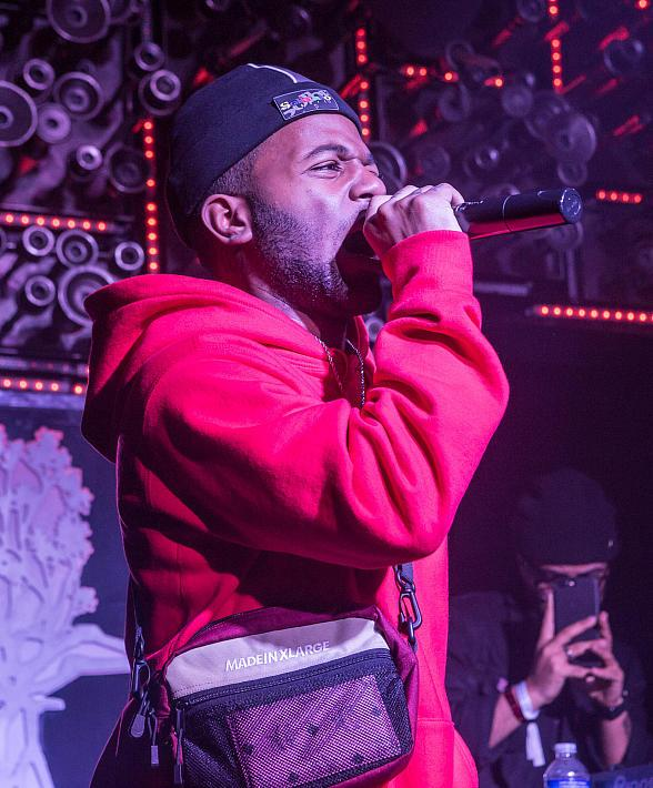 MadeinTYO Performs During Feature Sneaker Boutique Fashion Week Party at Hyde Bellagio