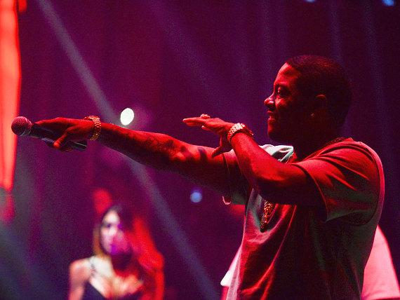 Ma$e Takes the Stage at LAX Nightclub inside Luxor Hotel and Casino