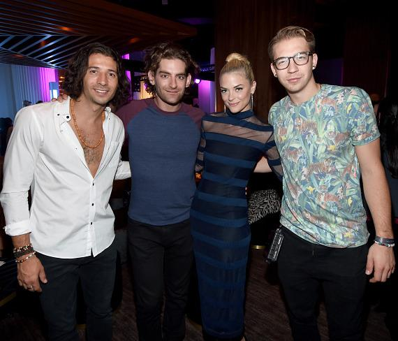 delano las vegas hosts grand opening party with jaime king