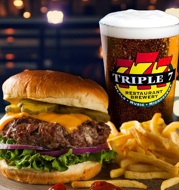 Triple 7 Celebrates National Hamburger Day on May 28
