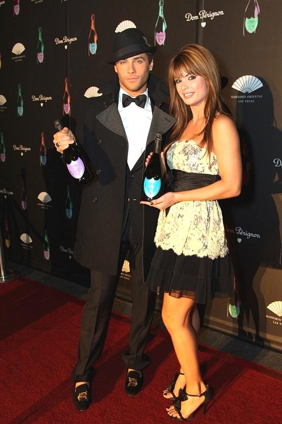 Josh Strickland and Laura Croft, co-stars of E! Channel's Holly's World