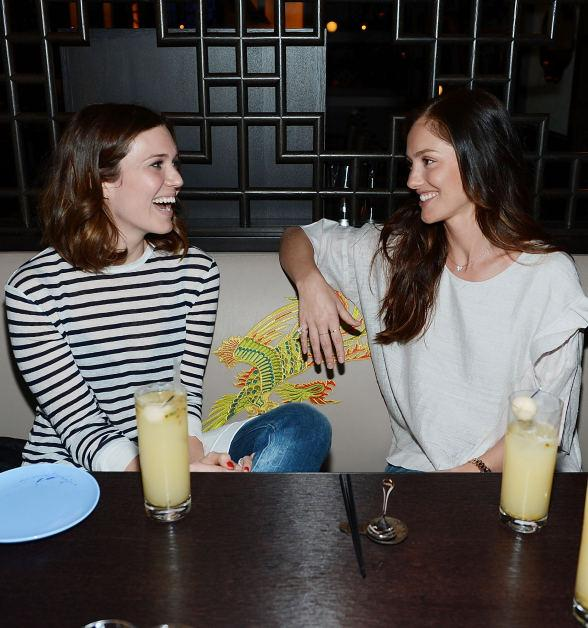 Minka Kelly and Mandy Moore Dine at Hakkasan Las Vegas  Restaurant