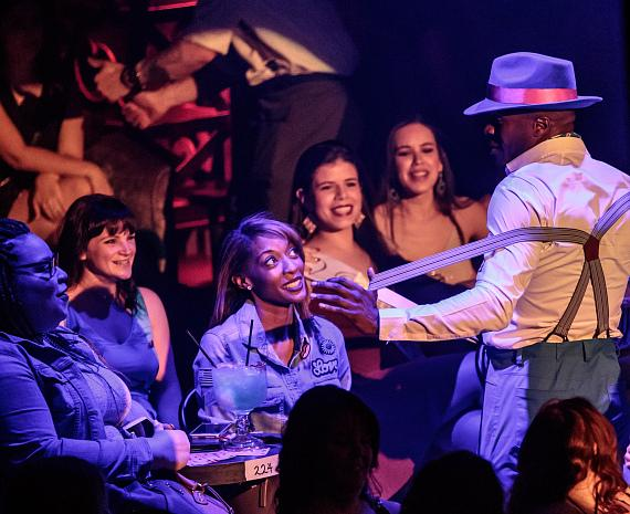 Manwe Sauls Addison Performs in MAGIC MIKE LIVE LAS VEGAS at Hard Rock Hotel & Casino