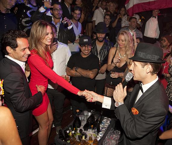 Marc Anthony with girlfriend Shannon De Lima