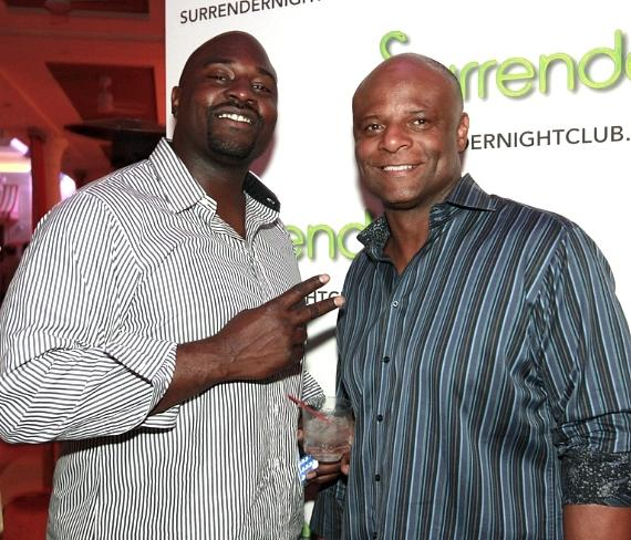Marcellus Wiley with Warren Moon