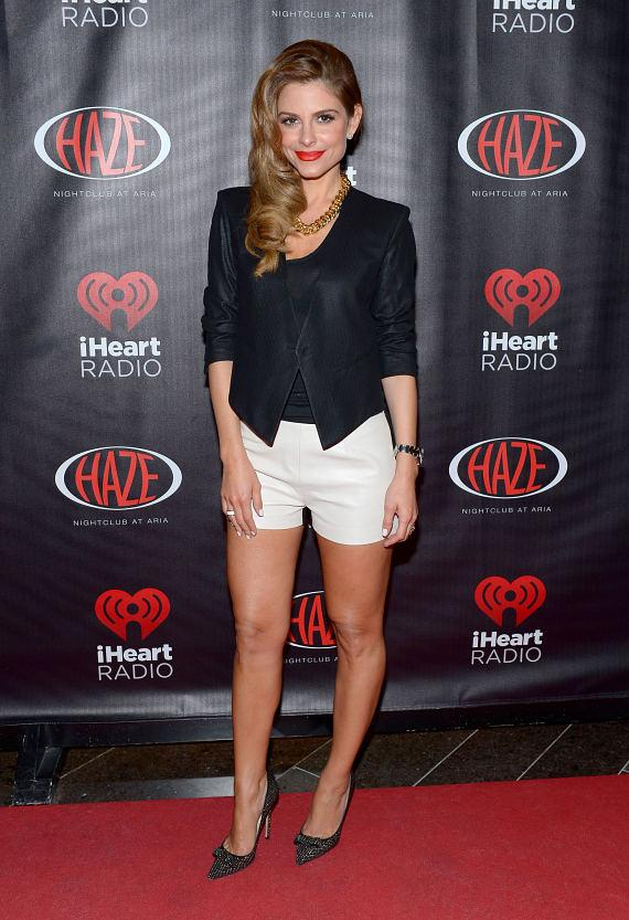 Maria Menounos at HAZE at ARIA for iHeart Radio party