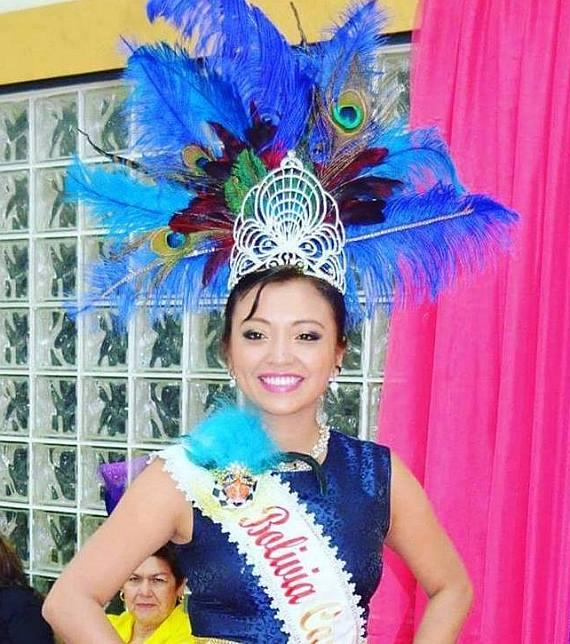 Maria Pacheco, Bolivian Carnaval Queen 2016