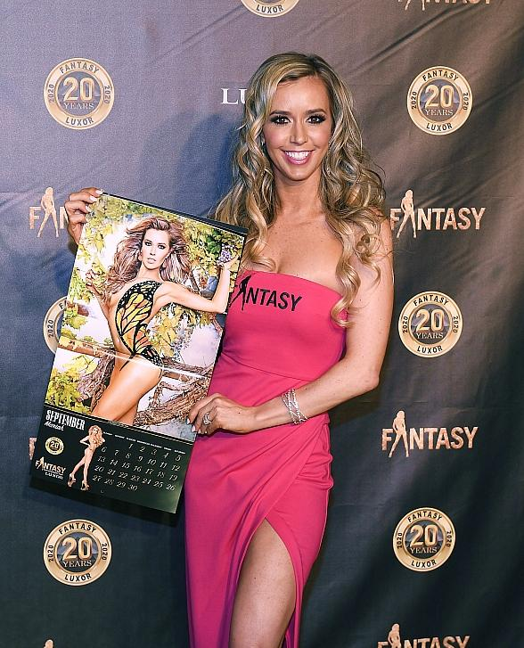 """FANTASY Celebrates 20th Anniversary at Luxor Hotel and Casino with the Debut of """"2020: Vision of Beauty"""" Calendar"""
