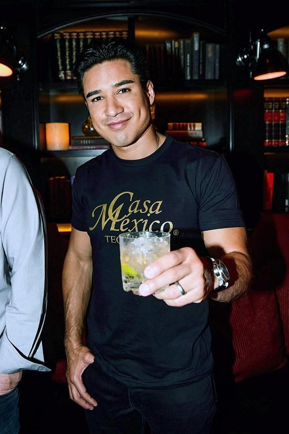 Mario Lopez at LAVO Casino Club