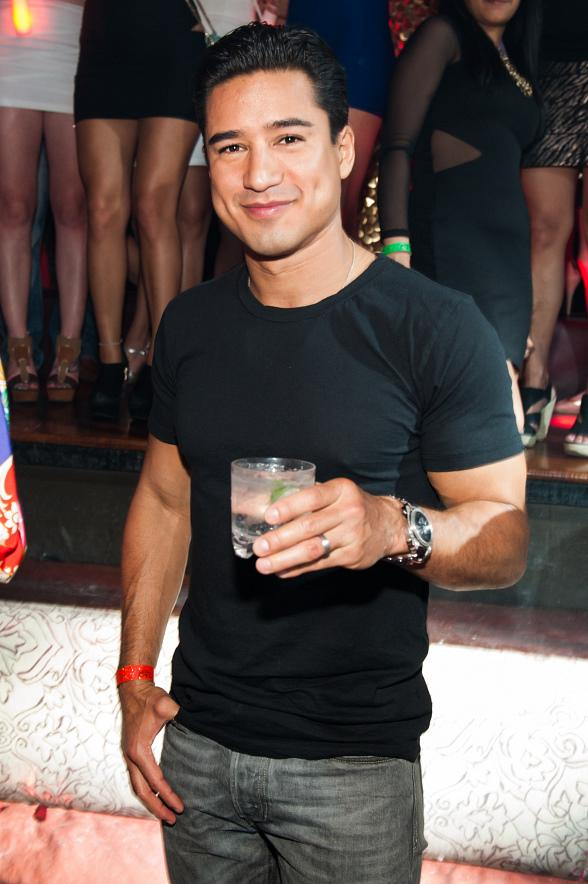 Mario Lopez Hosts Pre-Fight Party at TAO Nightclub
