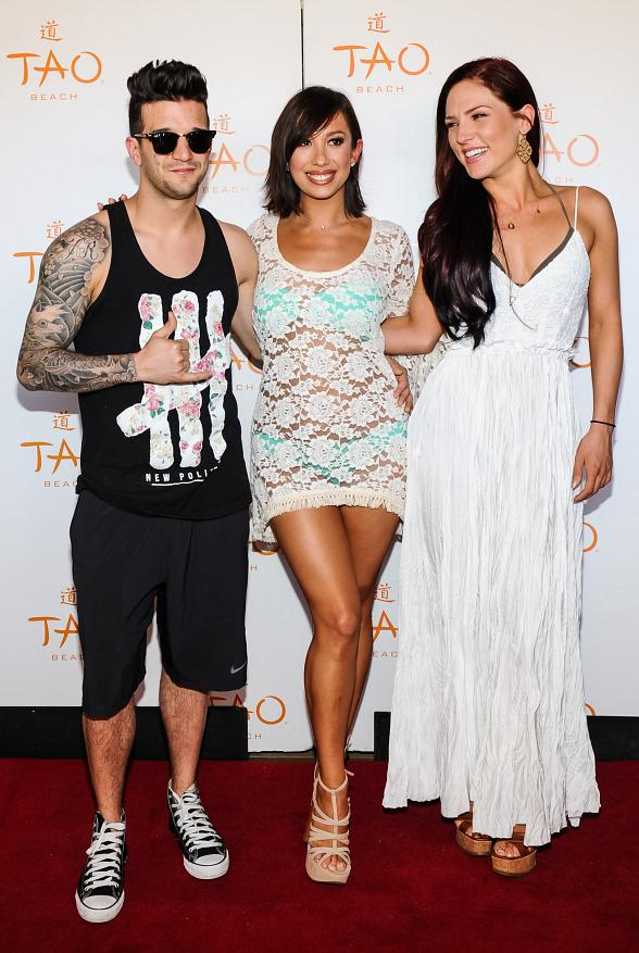 Cheryl Burke and Mark Ballas Celebrate Birthdays at TAO, Marquee and TAO Beach