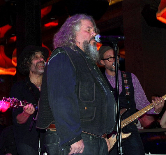 Mark Boone Junior and The Forest Rangers Performing at Chateau