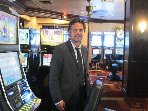 Mark Ruffalo films Now You See Me at Golden Gate Casino, Las Vegas