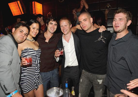 Vienna Girardi, Mark Salling, Josh Sussman, LMFAO at TAO and LAVO