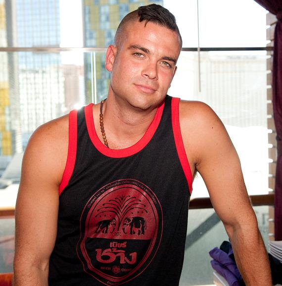 Mark Salling at Marquee Dayclub