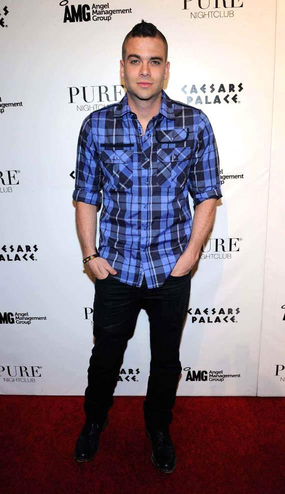 Mark Salling hosts an evening at PURE Nightclub