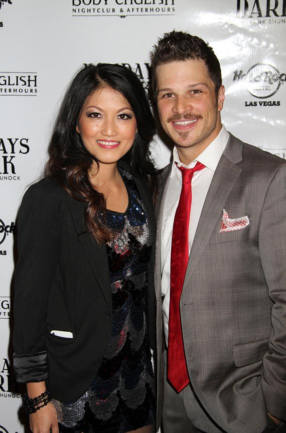 Mark Shunock and wife Cheryl Daro