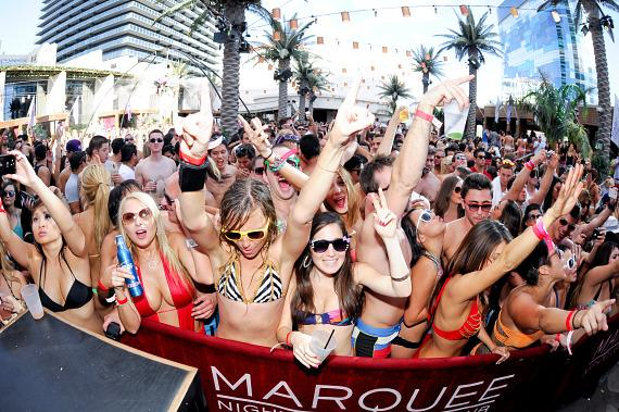 Markus Schulz on Red Carpet at Marquee