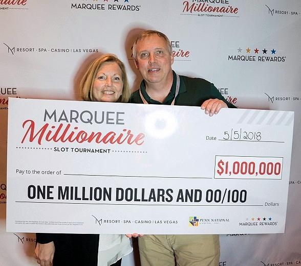 Indiana Man Wins $1 Million During Marquee Millionaire Slot Tournament at M Resort Spa Casino