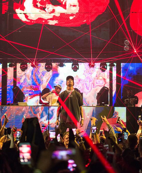 Travis Scott performs at Marquee in the Cosmopolitan of Las Vegas