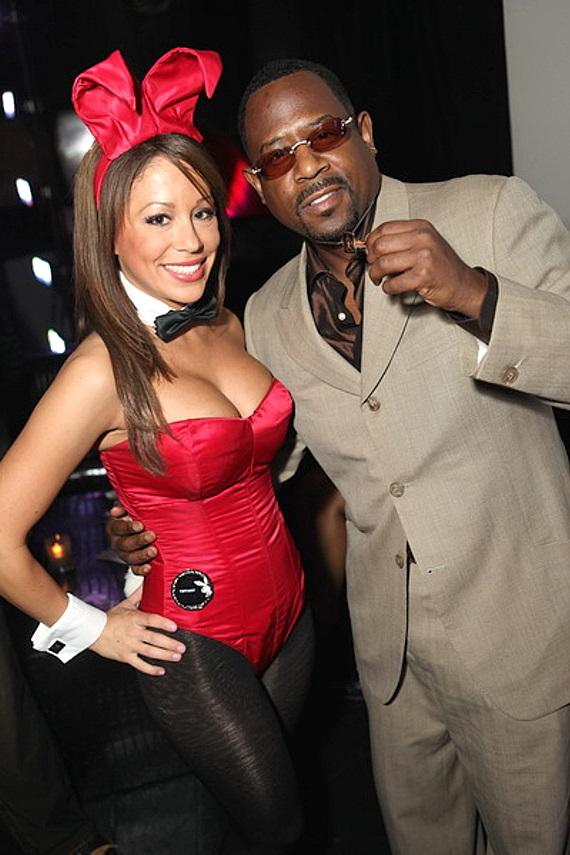 Martin Lawrence with Playboy Bunny