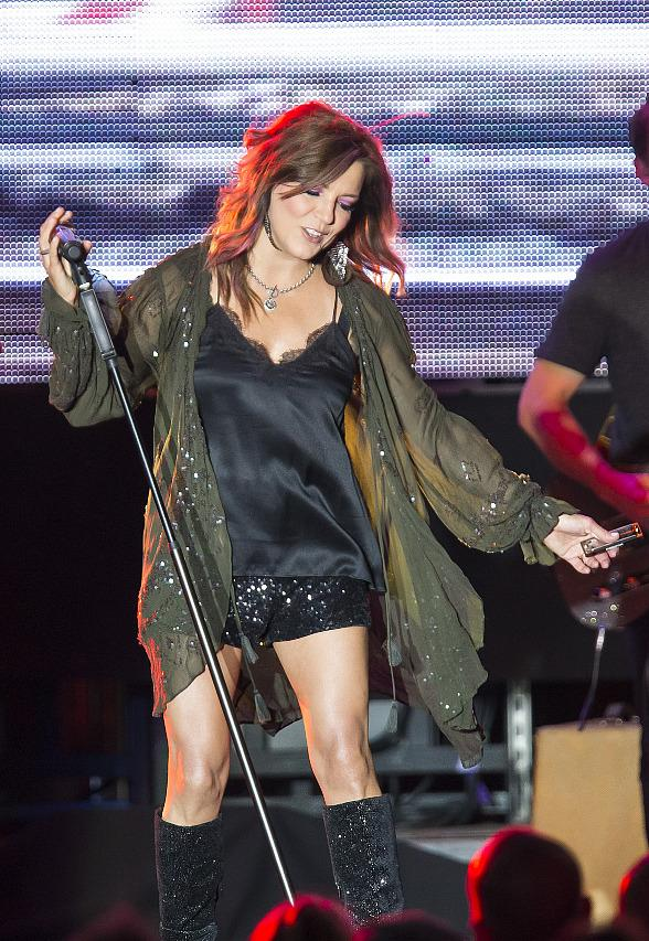 Martina McBride Performs to Packed House for M Resort Spa Casino's Summer Concert Series at M Pool