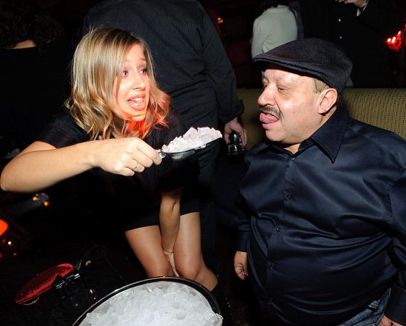 Mary McCormack and Chuy at  TAO