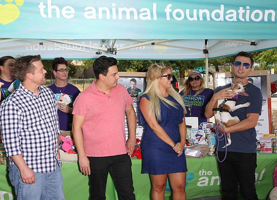 Mat Franco Presents The Animal Foundation with Magic Reinvented Nightly's Second Anniversary Supply Drive Donations