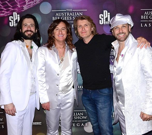 "Magician Hans Klok Attends ""The Australian Bee Gees Show"" at Excalibur Hotel & Casino in Las Vegas"
