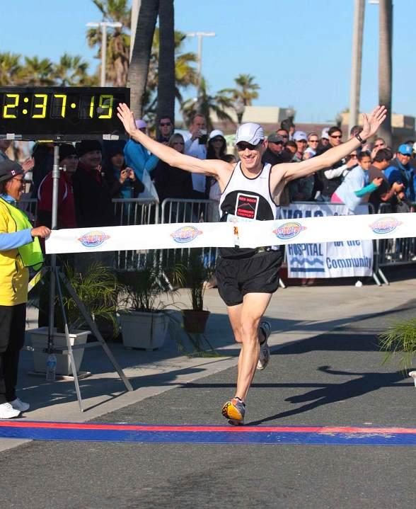 Matt Wiltse of Las Vegas Wins Surf City USA Men's Marathon