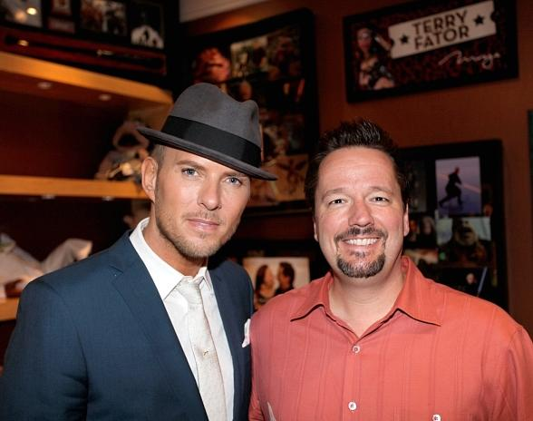 Matt Goss at Terry Fator's Show in Las Vegas