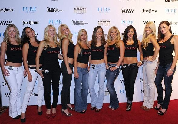 "Maxim ""Hometown Hotties"" Top 10 Finalists"