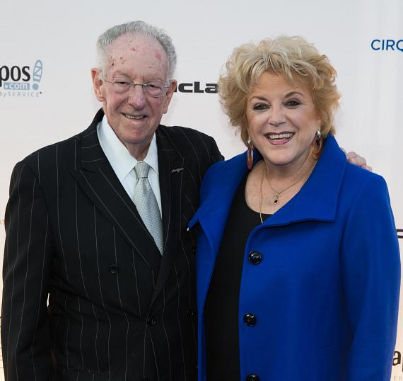 Mayor Carolyn Goodman and Oscan Goodman at 'One Night for ONE DROP'
