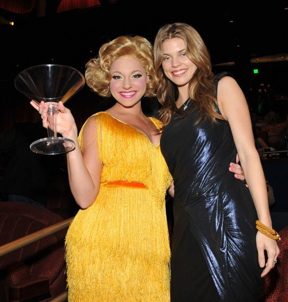 AnnaLynne with a Viva ELVIS dancer