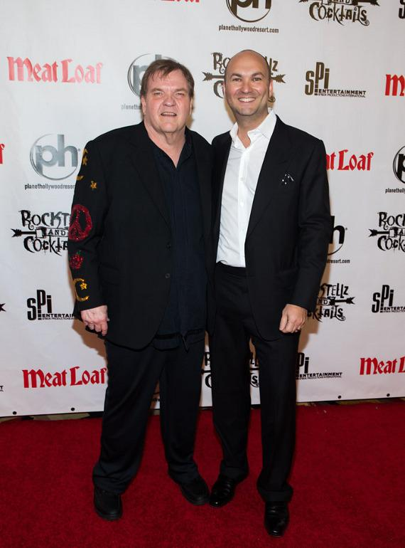 Meat Loaf and Adam Steck